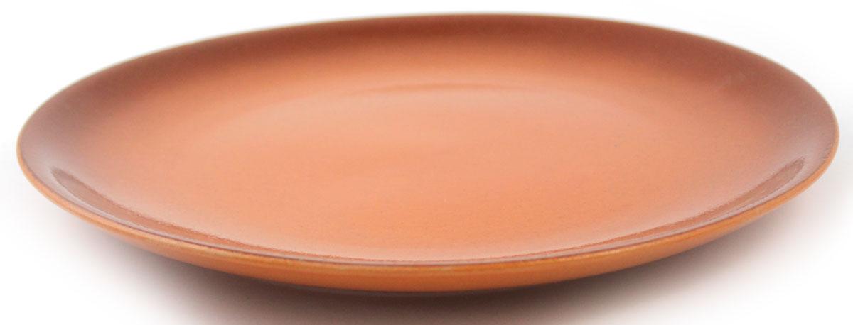 Тарелка Ломоносовская керамика, цвет: коричневый, диаметр 21 см2Т-21Тарелка Ломоносовская керамика, изготовленная из керамики, имеет изысканный внешний вид. Лаконичный дизайн придется по вкусу и ценителям классики, и тем, кто предпочитает современный стиль. Такая тарелка идеально подойдет для сервировки стола. Тарелка Ломоносовская керамика впишется в любой интерьер современной кухни и станет отличным подарком для вас и ваших близких. Диаметр тарелки: 21 см. Высота: 2,5 см.