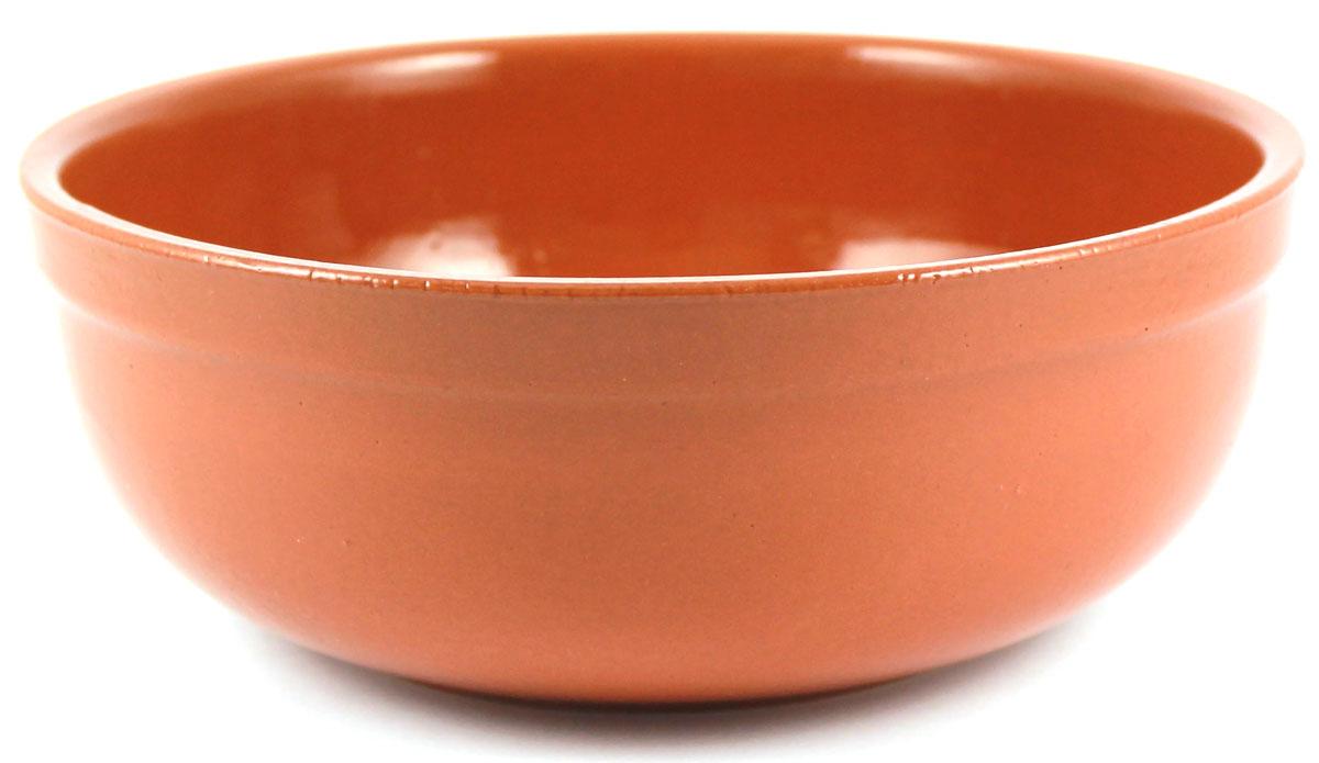 Салатник итальянский Ломоносовская керамика, 1,5 л. Цвет: терракот. Диаметр: 19 см. 1СИ3-2т1СИ3-2т