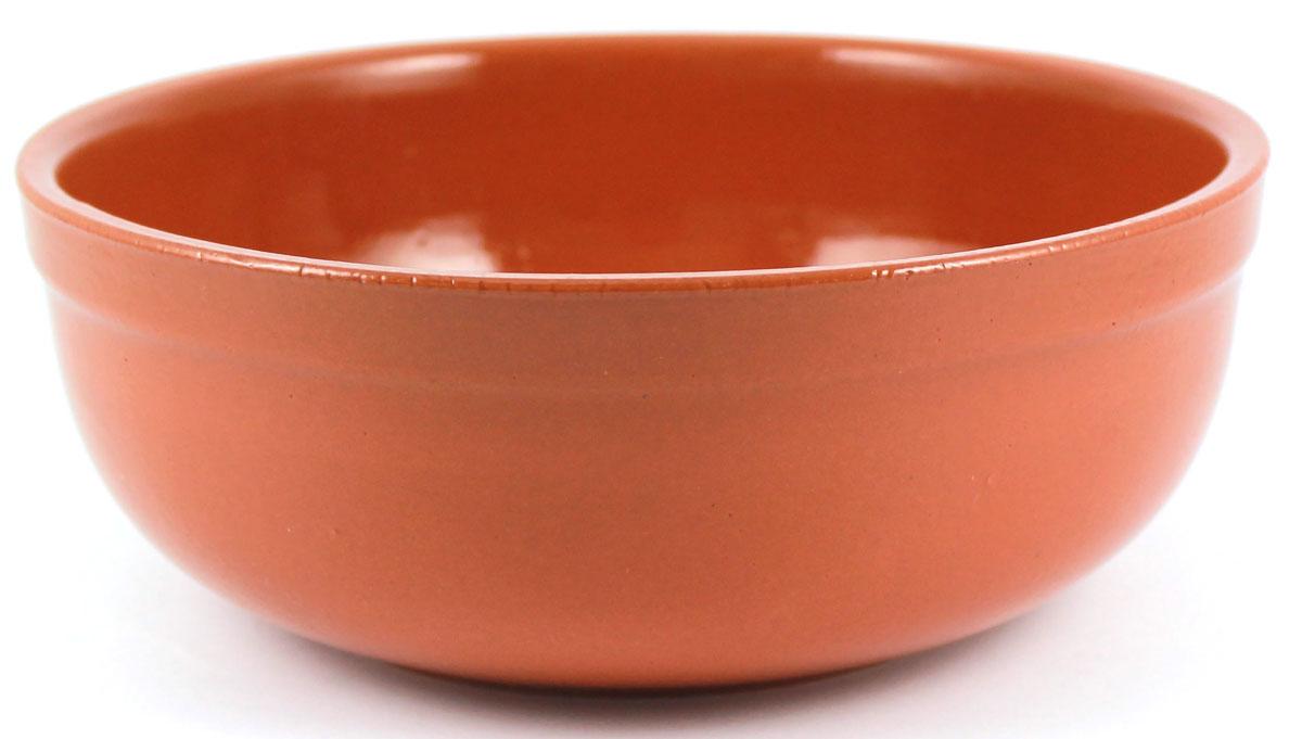 Салатник итальянский Ломоносовская керамика, 2,5 л. Цвет: терракот. Диаметр: 23 см. 1СИ3-3т1СИ3-3т