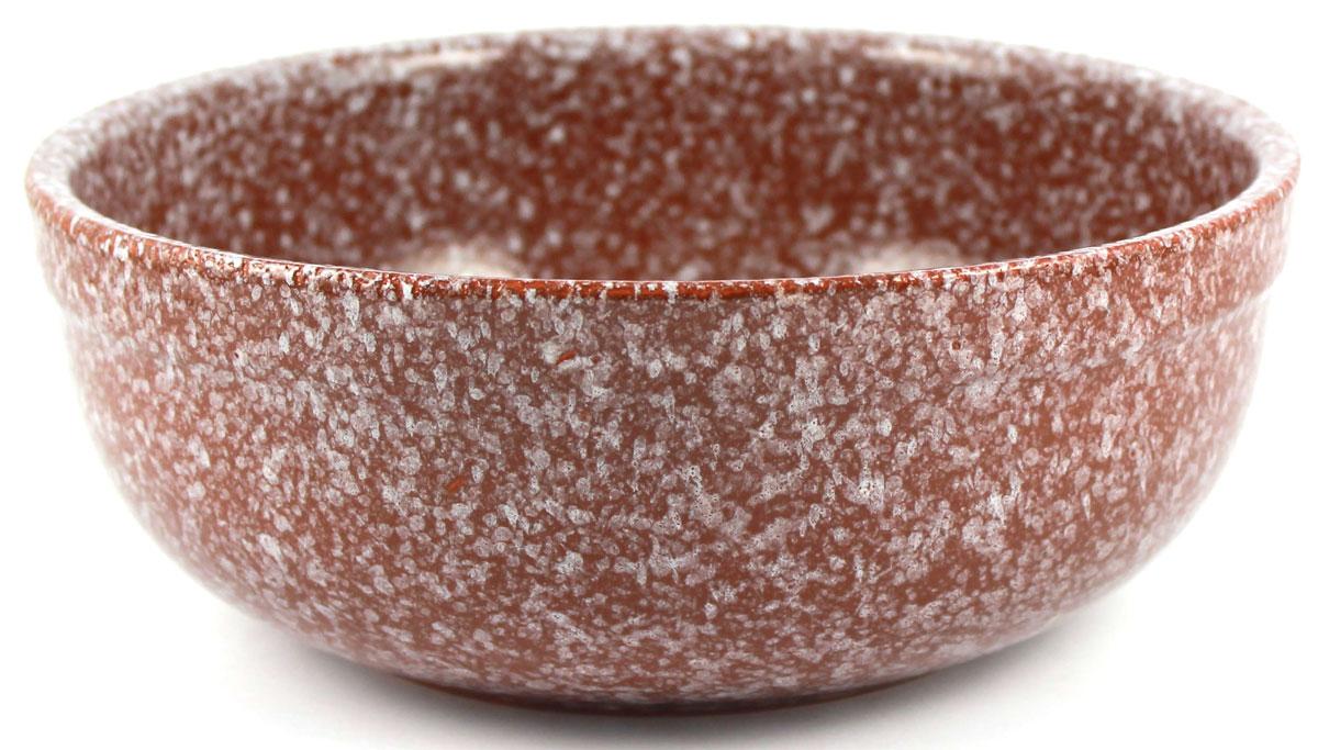 Салатник итальянский Ломоносовская керамика, 2,5 л, мрамор. Диаметр: 23 см. Цвет: коричневый. 1СИ3-3мр1СИ3-3мр