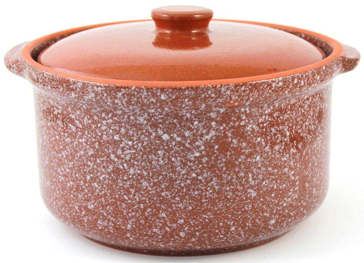 Кастрюля керамическая Ломоносовская керамика с крышкой, цвет: коричневый мрамор,1,5 л1ГС3мк-6Кастрюля Ломоносовская керамика выполнена из высококачественной глины. Покрытие абсолютно безопасно для здоровья, не содержит вредных веществ. Кастрюля оснащена удобными боковыми ручками и керамической крышкой. Она плотно прилегает к краям посуды, сохраняя аромат блюд.