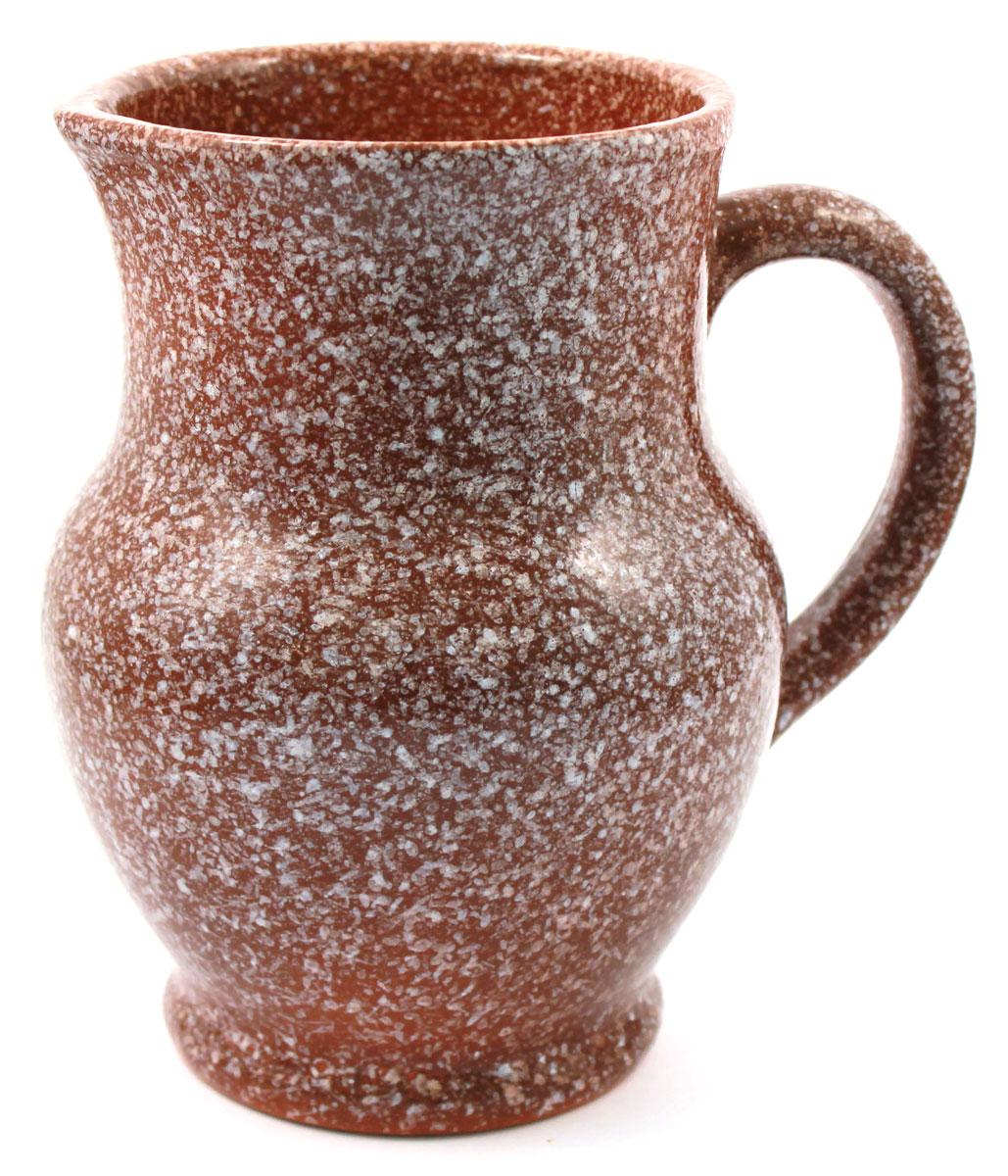 Кувшин Ломоносовская керамика, 1,3 л, мрамор. Цвет: коричневый. 1К3мк-11К3мк-1