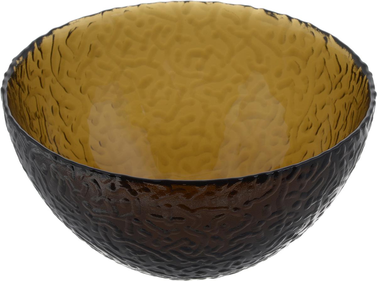 Салатник NiNaGlass Ажур, цвет: дымчатый, диаметр 16 см83-041-Ф160 ДЫМСалатник Ninaglass Ажур выполнен из высококачественного стекла и имеет рельефную внешнюю поверхность. Такой салатник украсит сервировку вашего стола и подчеркнет прекрасный вкус хозяйки, а также станет отличным подарком. Диаметр салатника (по верхнему краю): 16 см. Высота салатника: 8,5 см.