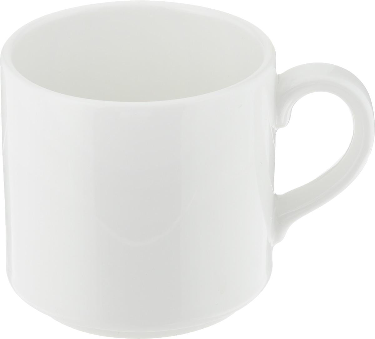 Чашка чайная Ariane Прайм, 200 млAPRARN41020Чашка Ariane Прайм выполнена из высококачественного фарфора с глазурованным покрытием. Изделие оснащено удобной ручкой. Изысканная чашка прекрасно оформит стол к чаепитию и станет его неизменным атрибутом. Можно мыть в посудомоечной машине и использовать в СВЧ. Диаметр чашки (по верхнему краю): 7,5 см. Высота чашки: 7 см.