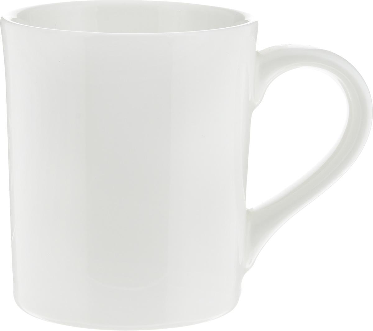 Кружка Ariane Прайм, 460 млAPRARN54046Кружка Ariane Прайм изготовлена из высококачественного фарфора с глазурованным покрытием. Такая кружка оригинально украсит стол, а пить чай или кофе станет еще приятнее. Можно мыть в посудомоечной машине и использовать в микроволновой печи. Диаметр кружки (по верхнему краю): 9 см. Высота салатника: 10,5 см.