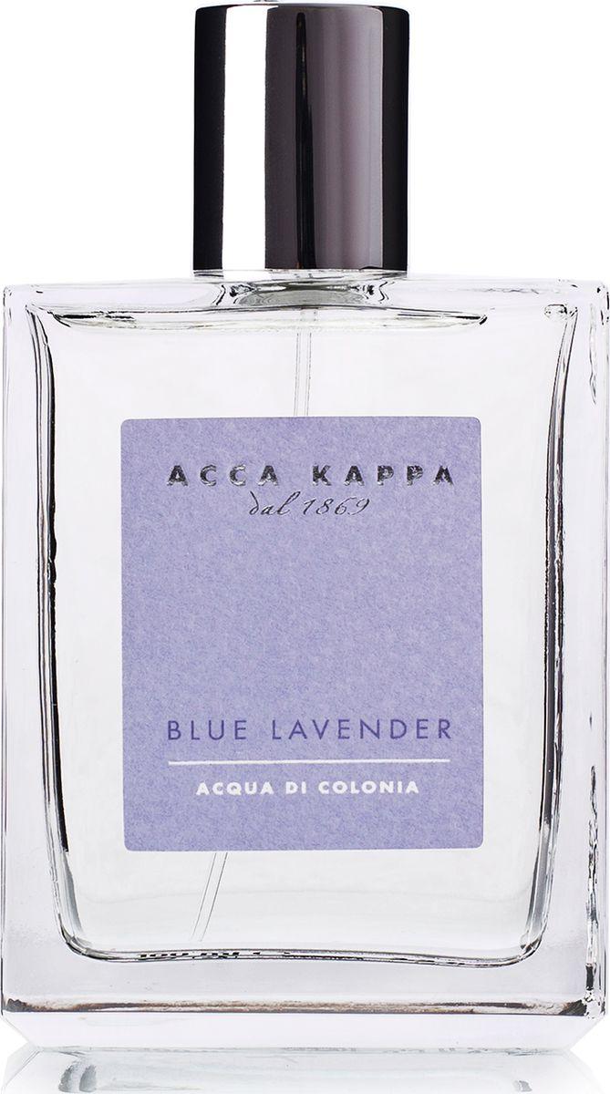 Acca Kappa Одеколон Голубая Лаванда 100 мл853381Лаванда обожает солнце, она вольно растёт в широких полях. Её цветение сопровождается восхитительным ароматом, который развевается над волнующимся сиреневым морем, прославляющим великолепие итальянского лета. Облака фиолетового света, земля, залитая солнцем, и прозрачный воздух, омываемый ветром – всё это вдохновило свежий и классический аромат Blue Lavender./Свежий и оригинальный аромат создан на основе гармоничного сочетания драгоценных натуральных эфирных масел мяты, розового перца, марокканского розмарина и изысканной французской лаванды.