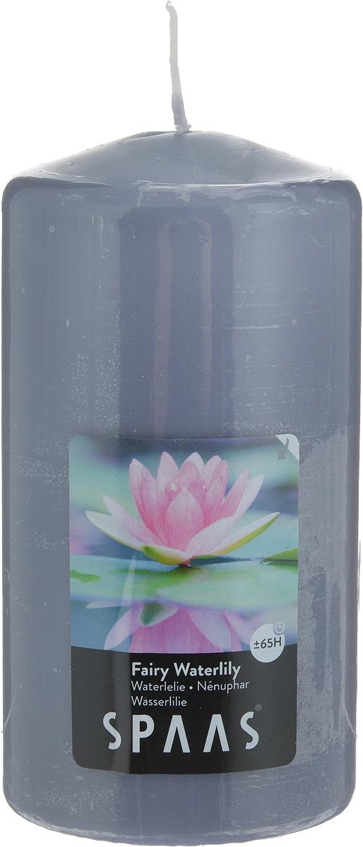 Свеча ароматизированная Spaas Волшебная кувшинка, высота 15 см0004800192Ароматизированная свеча Spaas Волшебная кувшинка изготовлена из парафина и стеарина с добавлением натуральных красок и ароматизаторов, которые не выделяют вредные вещества при горении. Фитиль выполнен из натурального хлопка. Оригинальная свеча с тонким, нежным ароматом добавит романтики в ваш дом и создаст неповторимую атмосферу уюта, тепла и нежности. Такая свеча не только поможет дополнить интерьер вашей комнаты, но и станет отличным подарком. Время горения: 65 ч.