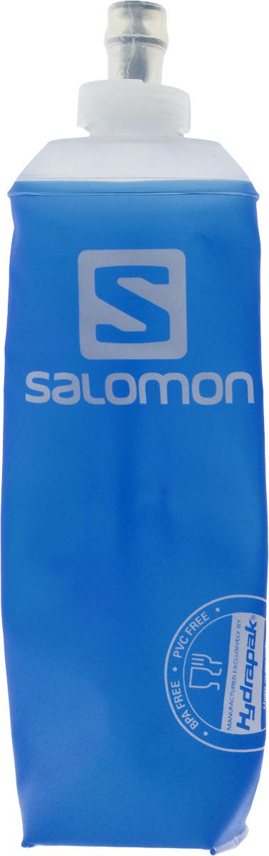 Бутылка спортивная Salomon Soft Flask, 500 млL39390100Бутылка Salomon Soft Flask изготовлена из 100% мягкого термополиуретана. Изделие предназначено для использования во время занятий спортом. Бутылка сжимается, когда вы из нее пьете, тем самым уменьшая колебание воды. Благодаря специальной насадке вы не прольете ни капли мимо. Изделие снабжено отметками литража.