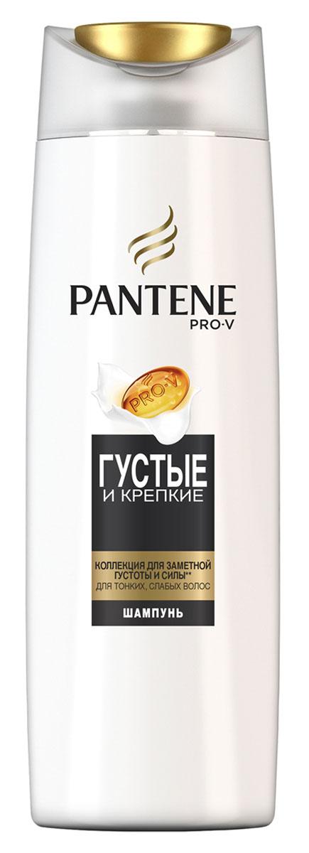 Pantene Pro-V Шампунь Густые и крепкие, для тонких и ослабленных волос, 400 мл81601069Ухаживающая коллекция Pantene Pro-V Шампунь Густые и крепкие включает активные вещества, действующие на микроуровне, которые придают объем и укрепляют защиту волос от повреждений при укладке. Для наилучших результатов используйте с бальзамом-ополаскивателем и средствами для ухода за волосами Pantene Pro-V Густые и крепкие.