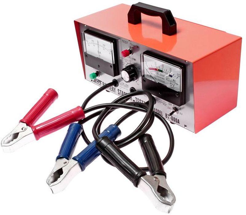 Тестер для АКБ JTC, многофункциональный, 12-24В. JTC-BT600AJTC-BT600AТестер для АКБ многофункциональный JTC Характеристики Многофункциональный прибор, предназначенный для проверки состояния стартера, генератора и АКБ. Применяется для АКБ емкостью 18-200 А·ч напряжением 12В (24В). Габаритные размеры: 360/275/215 мм. (Д/Ш/В) Вес: 4902 г.