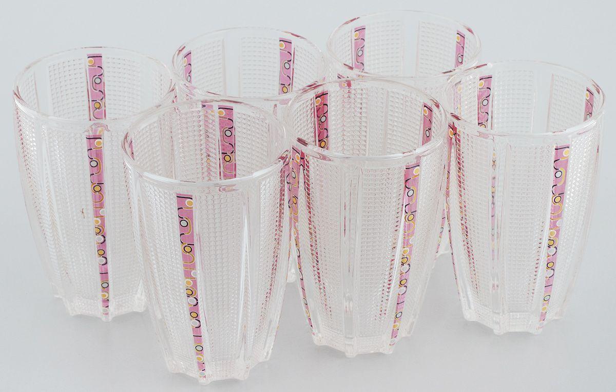 Набор стаканов Loraine, 300 мл, 6 шт. 2468824688Набор стаканов Mayer & Boch Loraine состоит из шести стаканов, выполненных из прочного высококачественного стекла. Стаканы предназначены для подачи холодных напитков. Они отличаются особой легкостью и прочностью, излучают приятный блеск. Стаканы декорированы изящным рисунком. Благодаря такому набору пить напитки будет еще приятнее. Набор стаканов Mayer & Boch Loraine идеально подойдет для сервировки стола и станет отличным подарком к любому празднику. Объем стакана: 300 мл. Диаметр стакана по верхнему краю: 7 см. Высота стакана: 12 см. Комплектация: 6 шт.