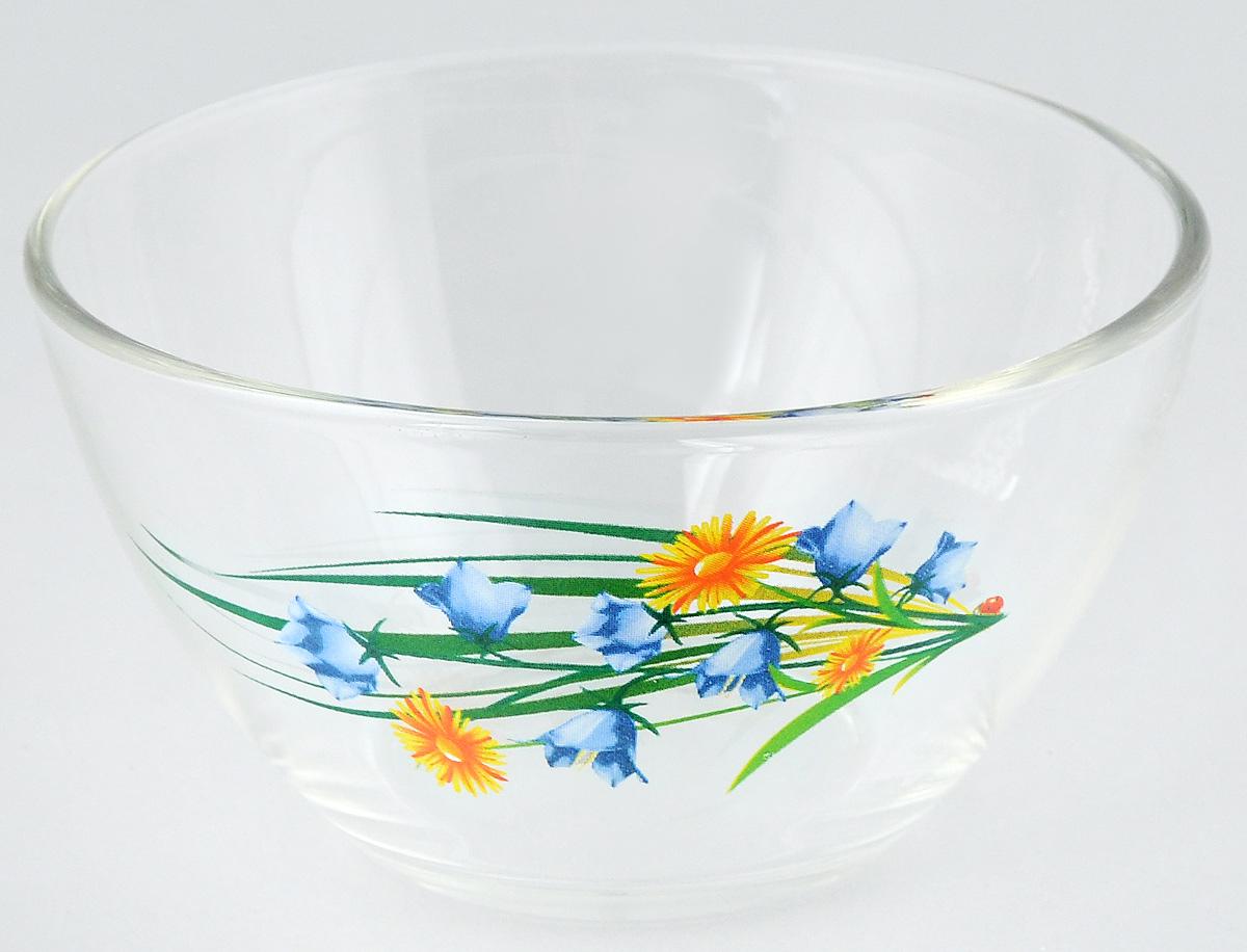 Салатник OSZ Цветочная Феерия, диаметр 11 см07с1322 ДЗ ЦВЕТФЕЕР4Салатник OSZ Цветочная Феерия изготовлен из бесцветного стекла и украшен ярким рисунком. Идеально подходит для сервировки стола. Салатник не только украсит ваш кухонный стол и подчеркнет прекрасный вкус хозяйки, но и станет отличным подарком. Объем салатника: 250 мл. Высота салатника: 6 см.
