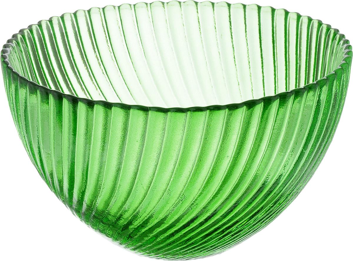 Салатник NiNaGlass Альтера, цвет: зеленый, диаметр 12 см83-036-ф120 ЗЕЛСалатник NiNaGlass Альтера изготовлен из прочного стекла. Идеально подходит для сервировки стола. Салатник не только украсит ваш кухонный стол и подчеркнет прекрасный вкус хозяйки, но и станет отличным подарком. Диаметр салатника (по верхнему краю): 12 см. Высота салатника: 7,5 см.