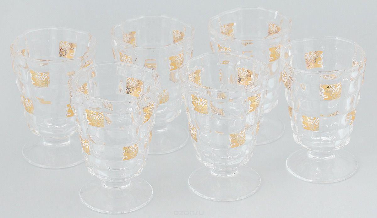 """Набор стаканов """"Loraine"""", 220 мл, 6 шт. 24687"""