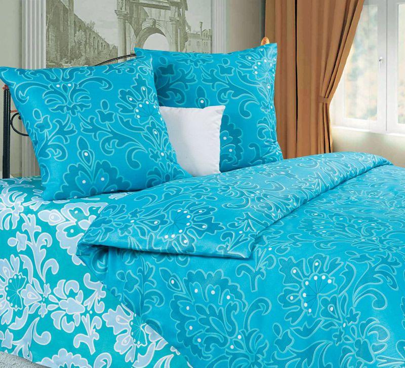 Комплект белья P&W Марианна, 1,5-спальный, наволочки 70х70, цвет: бирюзовый, голубойPW-40-143-145-69Комплект постельного белья P&W Марианна выполнен из микрофибры. Комплект состоит из пододеяльника, простыни и двух наволочек. Постельное белье оформлено изысканным рисунком. Ткань приятная на ощупь, мягкая и нежная, при этом она прочная и хорошо сохраняет форму, легко гладится. Ткань микрофибра - новая технология в производстве постельного белья. Тонкие волокна, используемые в ткани, производят путем переработки полиамида и полиэстера. Такая нить не впитывает влагу, как хлопок, а пропускает ее через себя, и влага быстро испаряется. Изделие не деформируется и хорошо держит форму. Благодаря такому комплекту постельного белья, вы сможете создать атмосферу роскоши и романтики в вашей спальне.