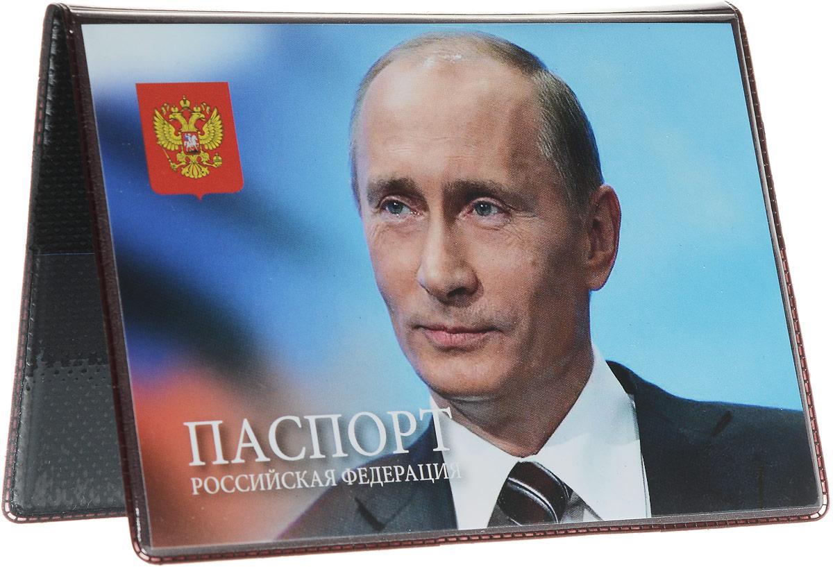 Обложка для паспорта Главдор Путин В.В.. GL-235_вид 4GL-235_Путин