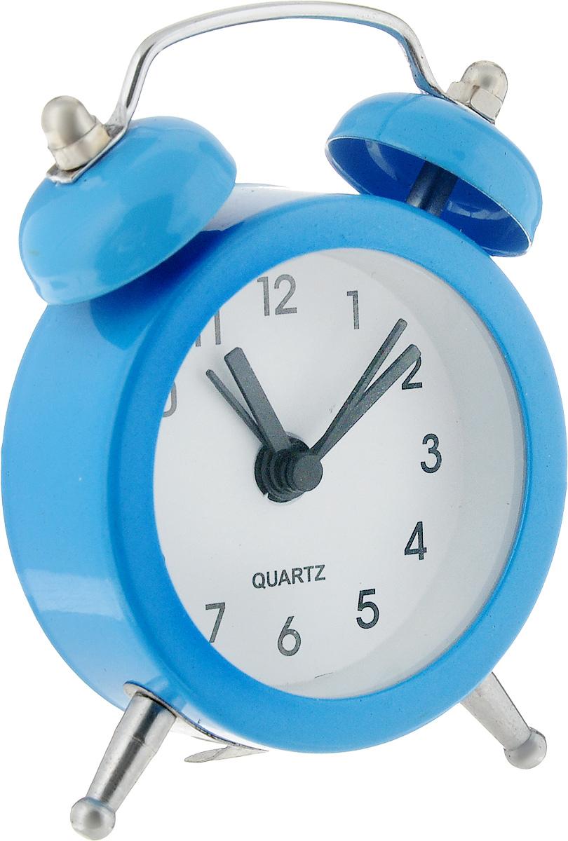 Часы-будильник Sima-land, цвет: голубой. 720791720791_синийКак же сложно иногда вставать вовремя! Всегда так хочется поспать еще хотя бы 5 минут и бывает, что мы просыпаем. Теперь этого не случится! Яркий и оригинальный мини- будильник Sima-land поможет вам всегда вставать в нужное время и успевать везде и всюду. Эта уменьшенная версия привычного будильника умещается на ладони и работает так же громко, как и привычные аналоги. Время показывает точно и будит в установленный час. На задней панели будильника расположены переключатель включения/выключения механизма, а также два колесика для настройки текущего времени и времени звонка будильника. Будильник работает от 1 батарейки типа LR44 (входит в комплект).