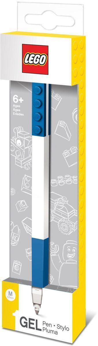 LEGO Гелевая ручка цвет чернил синий 5147651476Гелевая ручка из уникальной коллекции канцелярских принадлежностей LEGO с чернилами синего цвета. Ручка имеет пластиковый корпус с резиновой манжеткой, которая снижает напряжение руки. Ручка обеспечивает легкое и мягкое письмо, чернила быстро высыхают, не размазываются.
