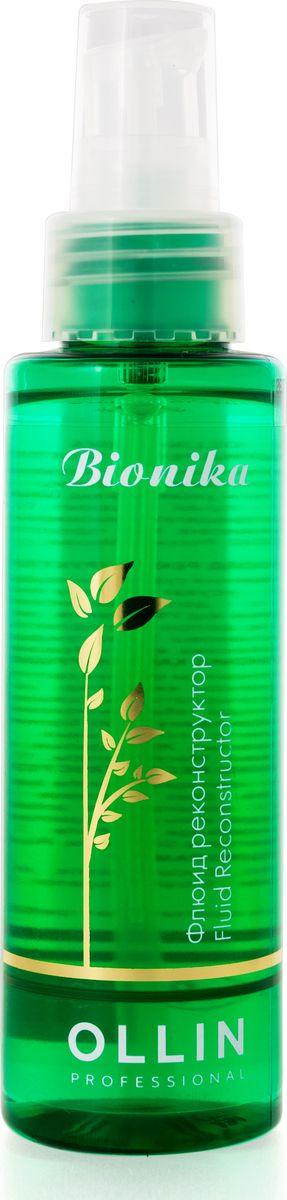 Ollin Флюид реконструктор BioNika Fluid Reconstructor 100 мл728882/4627115390596Флюид реконструктор Ollin BioNika Fluid Reconstructor для интенсивного восстановления сухих, поврежденных волос на основе масла овса. Облегчает расчесывание, устраняет проблему секущихся кончиков волос. Не утяжеляет, придает волосам блеск и ухоженный вид. Масло овса - содержит природные антиоксиданты, защищает от УФ лучей, увлажняет.
