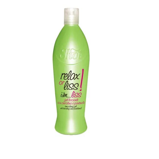 Shot I`m…Liss - Разглаживающий состав, гель 500 млSH7197-SHIM101Разглаживающий состав гелевой консистенции. Формула богата кондиционирующими веществами, а также содержит кератин, пантенол и протеины пшеницы. Идеальное средство для создания эффекта гладкой укладки и длительного выпрямления волос. Гель мягко обволакивает волосы, легко и быстро распределяется по полотну волос.