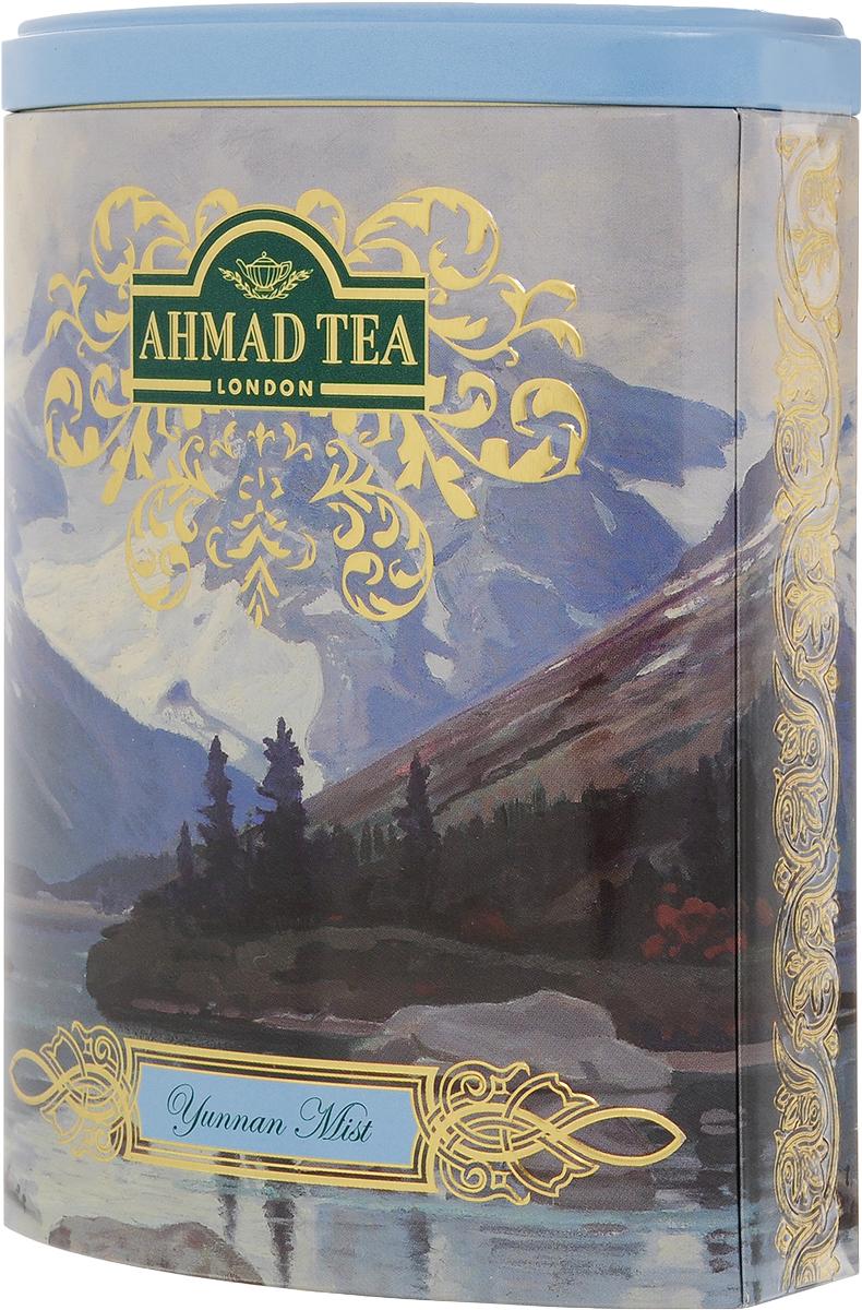 Ahmad Tea Yunnan Mist черный чай, 100 г (жестяная банка)1359Ahmad Yunnan Mist происходящий из легендарной китайской провинции Юньнань, исторической родины чая, обладает уникальным пикантным вкусом, дымным ароматом и ярко-золотистым цветом настоя. Этот мистический китайский чай в совершенном исполнении Ahmad Tea создаст атмосферу покоя и уединенности. Заваривать 5-7 минут, температура воды 100°С.