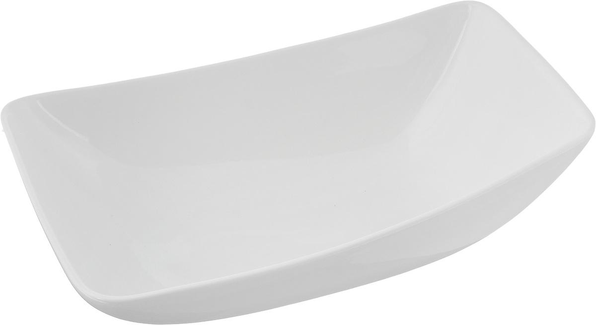 Салатник Ariane Rectangle, 1 лAVRARN22024Оригинальный салатник Ariane Rectangle, изготовленный из высококачественного фарфора, имеет оригинальную форму и приподнятый край. Такой салатник украсит сервировку вашего стола и подчеркнет прекрасный вкус хозяина, а также станет отличным подарком. Можно мыть в посудомоечной машине и использовать в микроволновой печи. Размер салатника (по верхнему краю): 24 х 16 см. Максимальная высота салатника: 7,5 см.