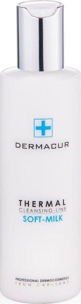 Питающее очищающее молочко Soft Milk Dermacur, 200млP013Питающее нежное очищающее молочко с гиалуроновой кислотой, витамином Е, аргановым маслом и смесью из карловарских солей тщательно устраняет макияж и загрязнения с кожи. Оно защищает гидролипидную пленку и оставляет кожу свежей, нежной и увлажненной. Подходит и для чувствительной кожи. Эффект использования питающего очищающего молочка SOFT MILK: - Эффективное увлажнение в течение всего дня. - Длительное увлажнение в ночное время суток. - Восстановление и тонизирование. - Разглаживание и профилактика морщин. - Устранение сухости кожи. - Регенерация и восстановление кожи лица. Применение питающего очищающего молочка SOFT MILK Нанесите молочко кончиками пальцев или ватным тампоном на лицо и шею, тщательно разотрите с помощью мягкого массажа, и снимите ватным тампоном, очищающей или чистой водой.