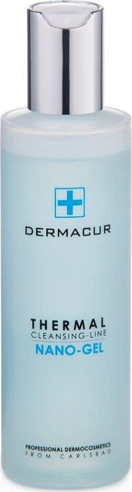 Гель c активными веществами Nano Gel Dermacur, 200млP014Гель для очищения кожи с активными веществами из алоэ вера, огурца и солевыми минералами, не содержащий мыла. Идеально подходит для нормальной и комбинированной кожи. Эффективно удаляет загрязнения и регулирует выделение кожного сала, не высушивая кожу. Экстракт из алоэ вера и огурца тонизирует уставшую и подверженную нагрузке кожу, оставляя её свежей и превосходно увлажненной. Эффект использования геля c активными веществами NANO GEL: - Эффективное увлажнение в течение всего дня. - Длительное увлажнение в ночное время суток. - Восстановление и тонизирование. - Разглаживание и профилактика морщин. - Устранение сухости кожи. - Регенерация и восстановление кожи лица. Увлажните кожу теплой водой, нанесите небольшое количество геля и мягко помассируйте. После этого тщательно сполосните и осушите кожу. Очищающий гель можно использовать утром и вечером для ухода за лицом и всем телом.