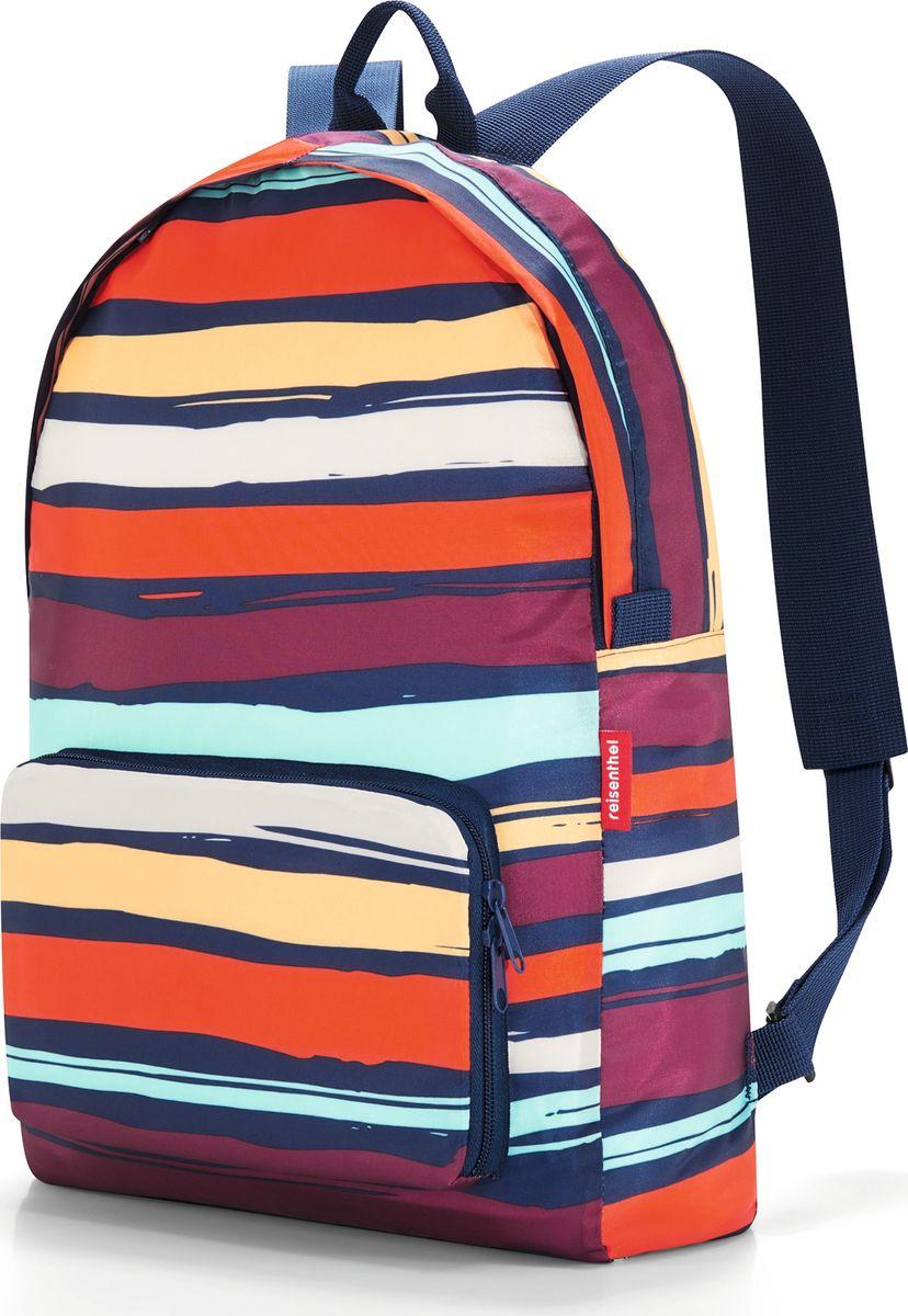 Рюкзак женский Mini Maxi Artist Stripes, цвет: мультиколор. AP3058AP3058Незаменимый рюкзак для путешествий или прогулок. В свернутом виде такой рюкзак можно носить с собой в качестве запасной сумки. - для хранения компактно складывается внутрь собственного внешнего кармана; - широкие лямки позволяют равномерно распределить нагрузку по спине и плечам; - объем – 14 литров.