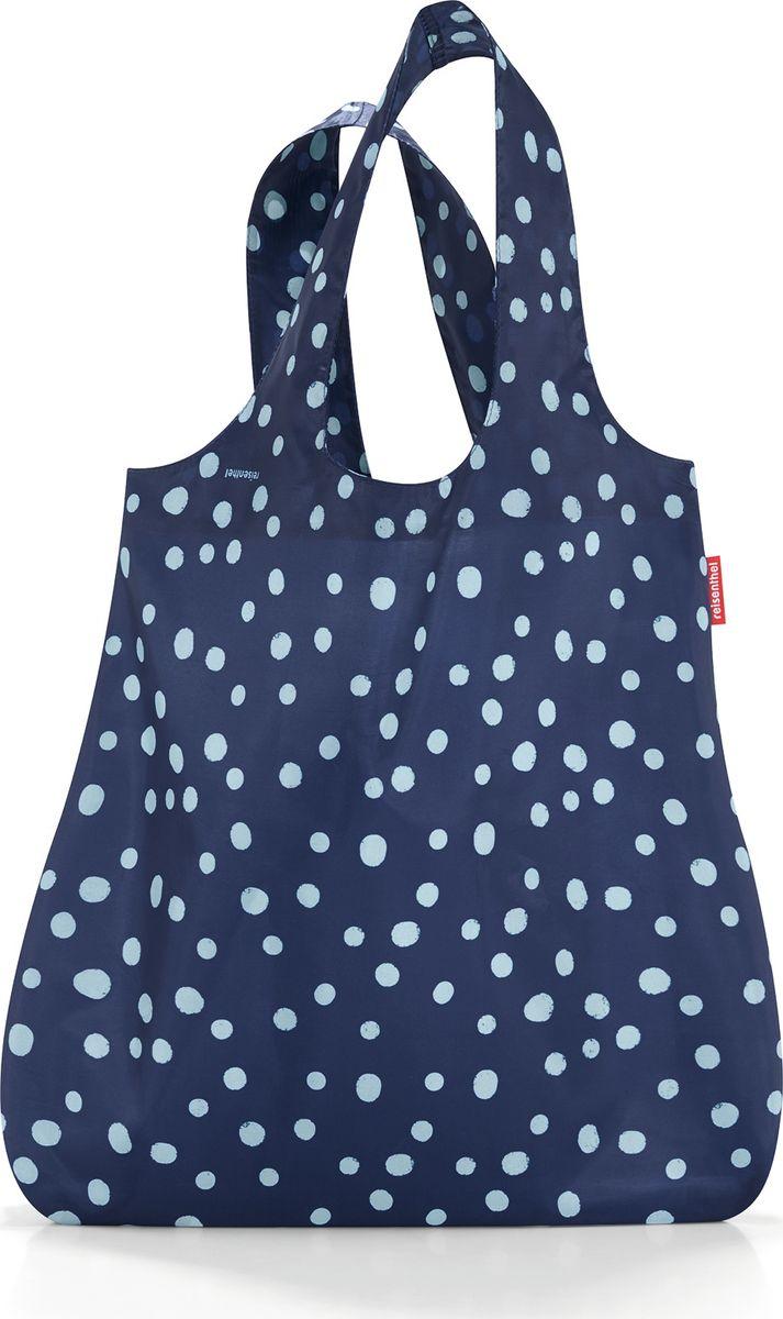 Сумка женская Reisenthel Mini Maxi Shopper, цвет: синий. AT4044AT4044Стильная и практичная сумка для покупок. Экологичная альтернатива одноразовым пакетам. - компактно сворачивается и фиксируется резинкой для удобства переноски; - размер в сложенном состоянии - всего 12 см х 6 см х 2 см; - удобные широкие ручки; - объем – 15 литров.
