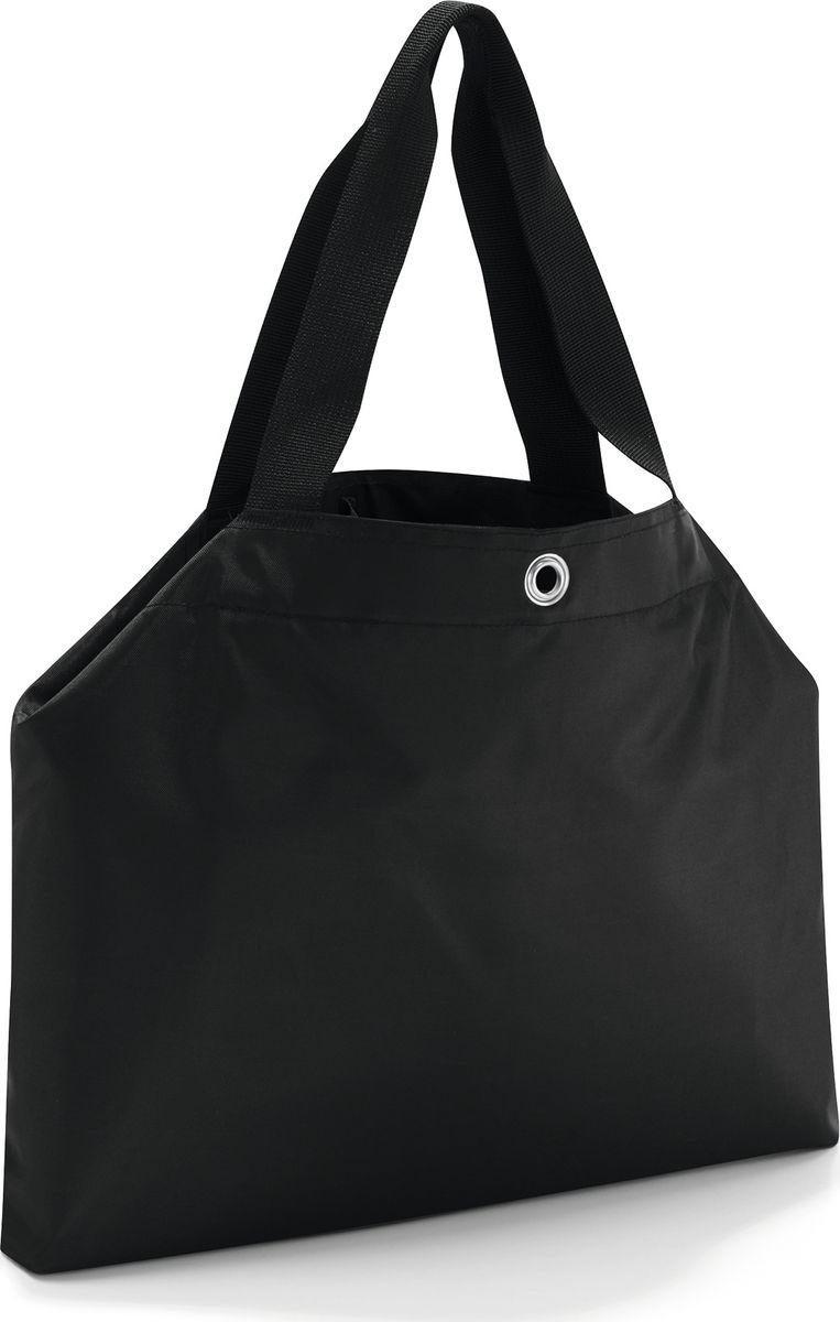 Сумка женская Reisenthel Changebag, цвет: черный. CH7003CH7003Мечта о безлимитных покупках станет реальностью! Сумка Changebag за считанные секунды меняет свой размер, превращаясь из компактной дамской в прочную вместительную сумку для шопинга. - сумка закрывается на застежку тогл; - 2 регулируемых размера; - в сложенном состоянии - два отделения; в развернутом состоянии - одно основное; - два внутренних кармана на молнии и один для мобильного телефона; - уплотненное прочное дно; - водоотталкивающий полиэстер премиум класса; - объем: 15 литров, объем в развернутом состоянии: 35 литров;
