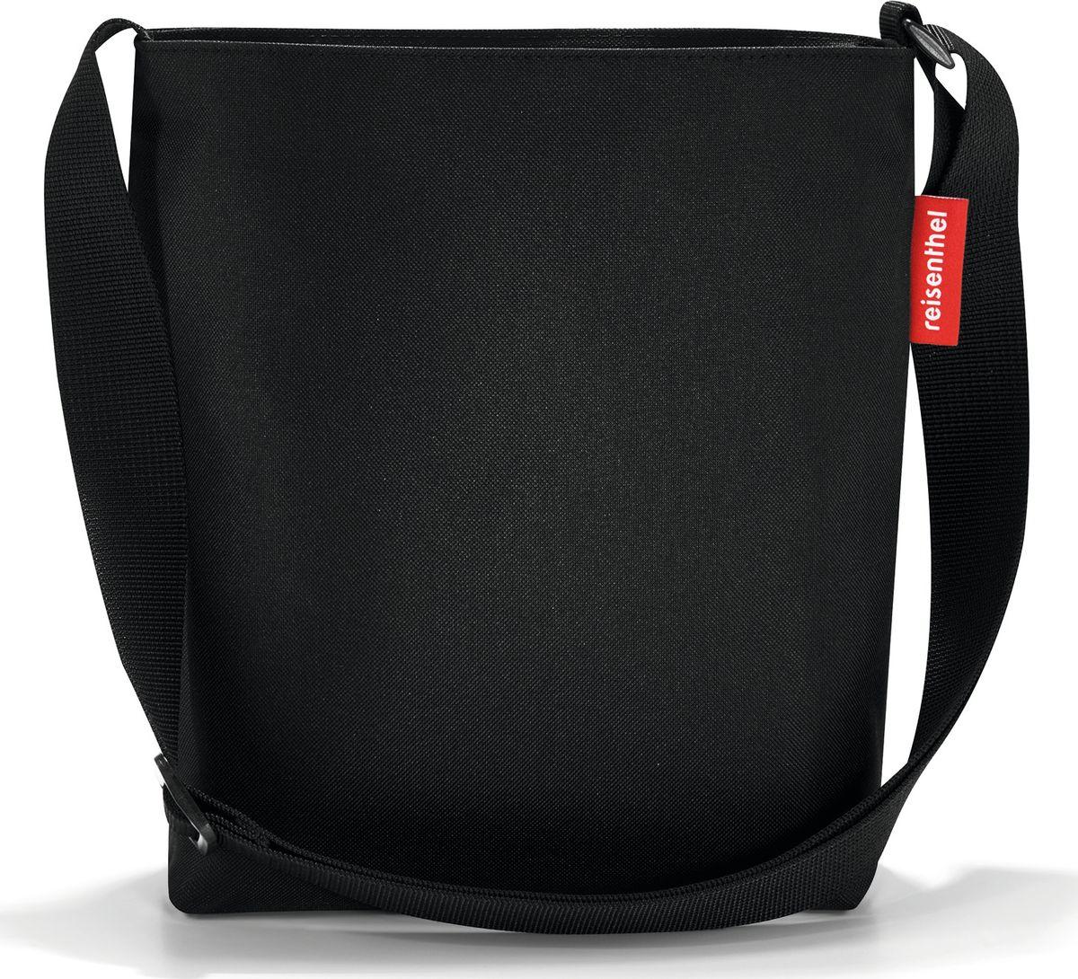 Сумка женская Reisenthel Shoulderbag S, цвет: черный. HY7003HY7003Простая, но очень вместительная сумка через плечо. Застегивается на молнию. Широкий удобный ремень регулируемой длины. Внутри - дополнительный карман на молнии.