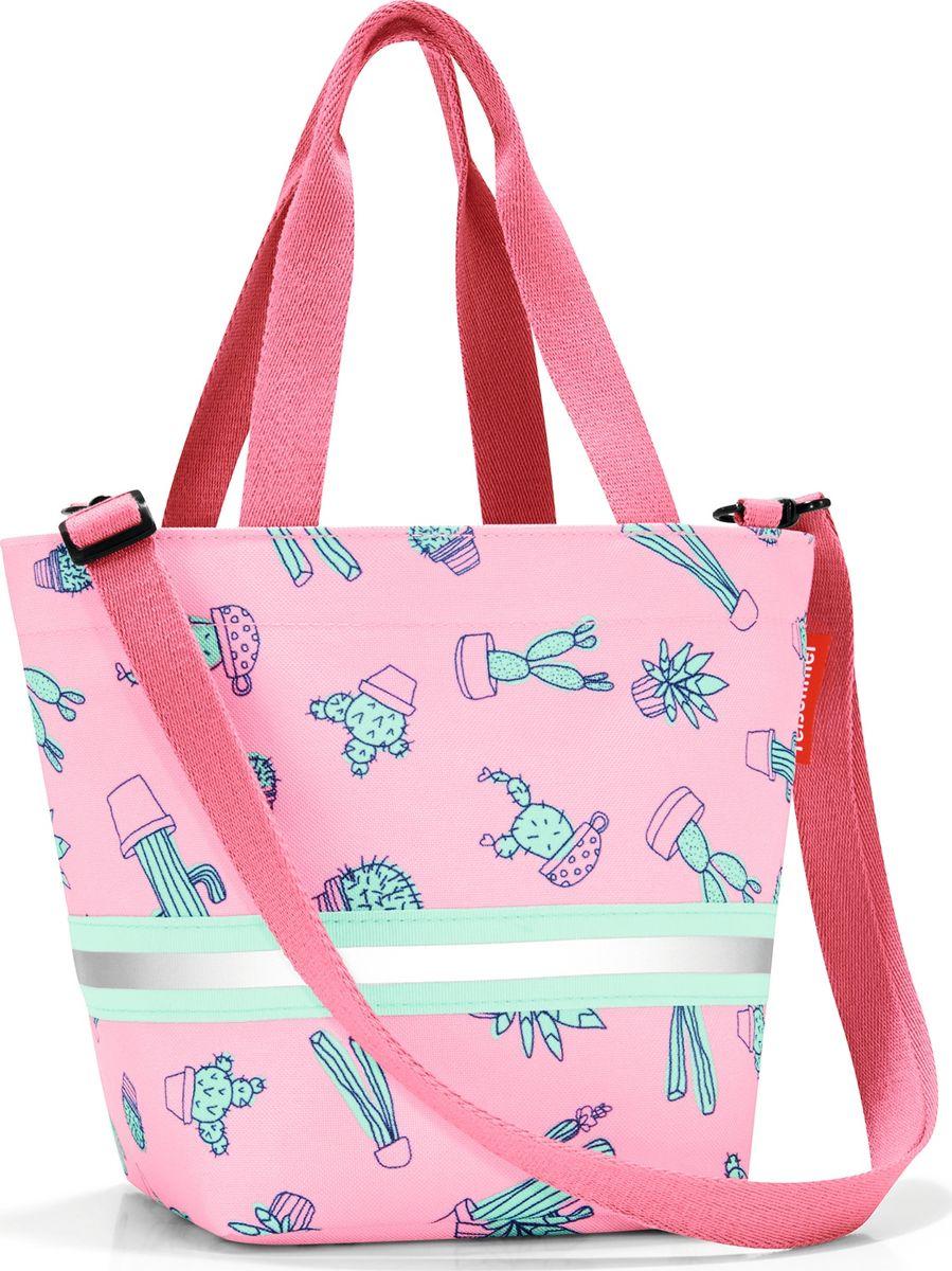 Сумка десткая Reisenthel Shopper XS, цвет: розовый. IK3055IK3055Симпатичная сумка на молнии для повседневного использования: широкие удобные лямки для переноски в руках и удобный плечевой ремешок с регулируемой длиной, который можно отстегнуть. Удобно брать с собой в магазин, особенно, если ваш ребенок хочет помочь вам с покупками: объем 4 литра позволит вместить все необходимые мелочи. Внутри сумки есть кармашек на молнии и специальная плашка, куда можно вписать имя ребенка. Светоотражающие элементы обеспечат дополнительную безопасность на улице. Материал: прочный водоотталкивающий полиэстер премиум класса.
