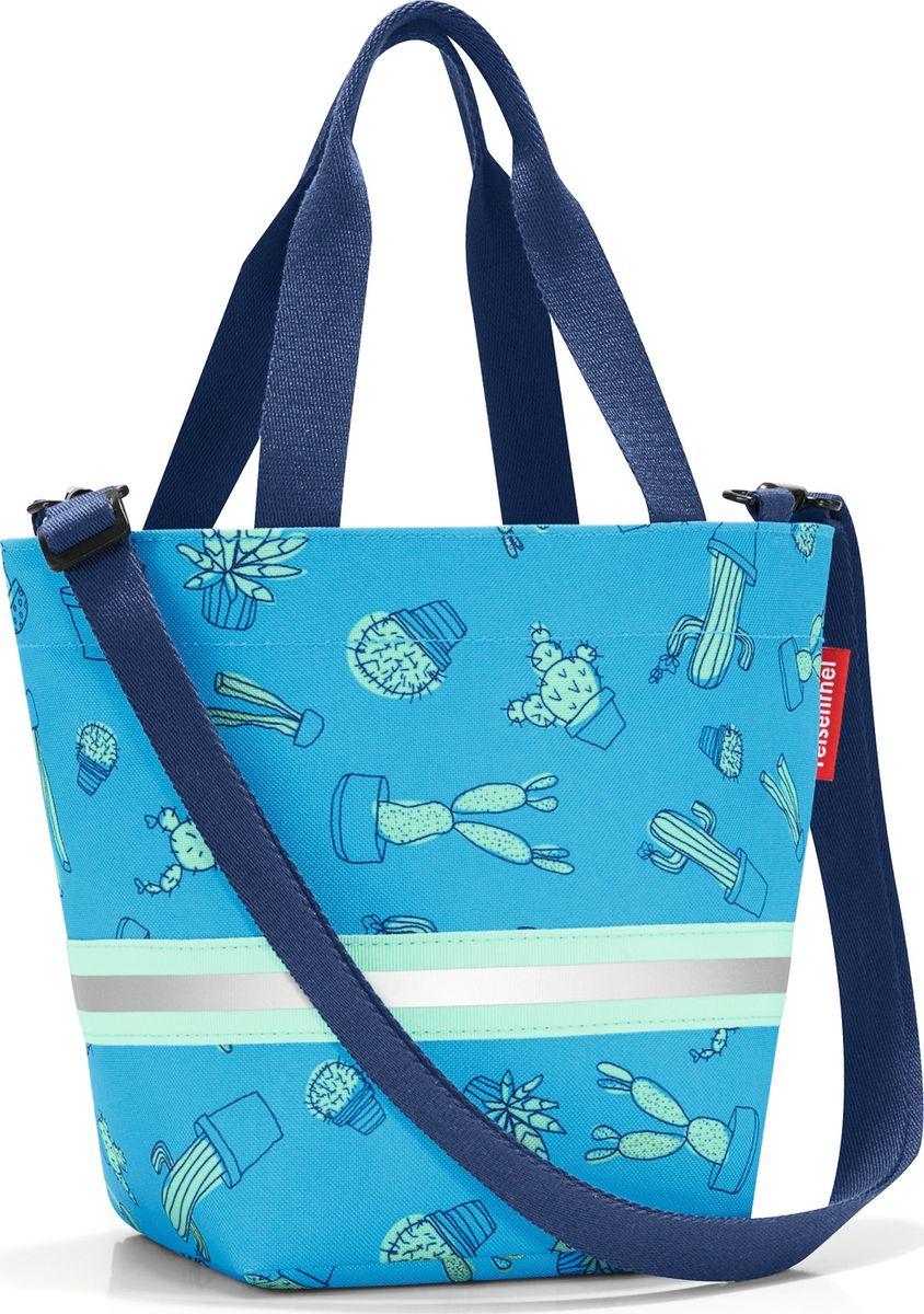 Сумка десткая Reisenthel Shopper XS, цвет: голубой. IK4049IK4049Симпатичная сумка на молнии для повседневного использования: широкие удобные лямки для переноски в руках и удобный плечевой ремешок с регулируемой длиной, который можно отстегнуть. Удобно брать с собой в магазин, особенно, если ваш ребенок хочет помочь вам с покупками: объем 4 литра позволит вместить все необходимые мелочи. Внутри сумки есть кармашек на молнии и специальная плашка, куда можно вписать имя ребенка. Светоотражающие элементы обеспечат дополнительную безопасность на улице. Материал: прочный водоотталкивающий полиэстер премиум класса.