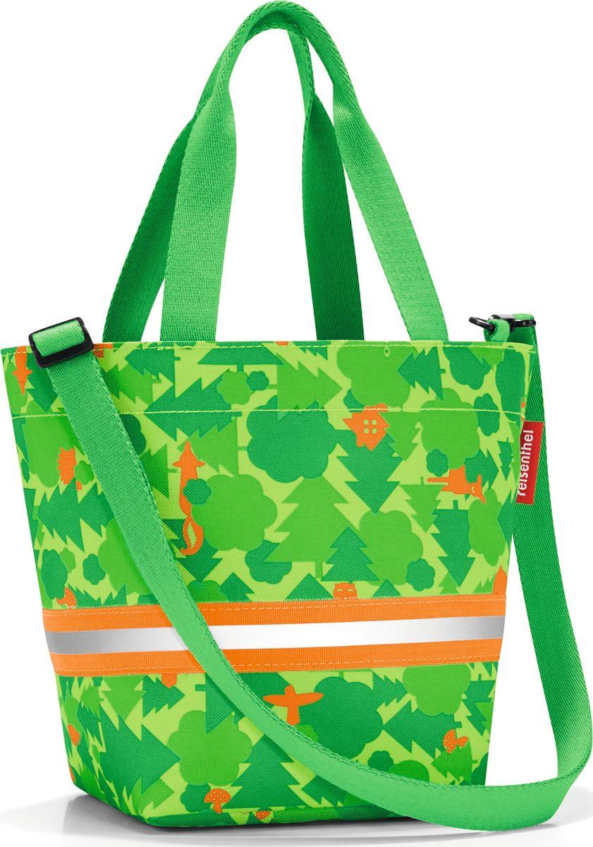 Сумка десткая Shopper XS, цвет: зеленый. IK5035IK5035Симпатичная сумка на молнии для повседневного использования: широкие удобные лямки для переноски в руках и удобный плечевой ремешок с регулируемой длиной, который можно отстегнуть. Удобно брать с собой в магазин, особенно, если ваш ребенок хочет помочь вам с покупками: объем 4 литра позволит вместить все необходимые мелочи. Внутри сумки есть кармашек на молнии и специальная плашка, куда можно вписать имя ребенка. Светоотражающие элементы обеспечат дополнительную безопасность на улице. Материал: прочный водоотталкивающий полиэстер премиум класса.