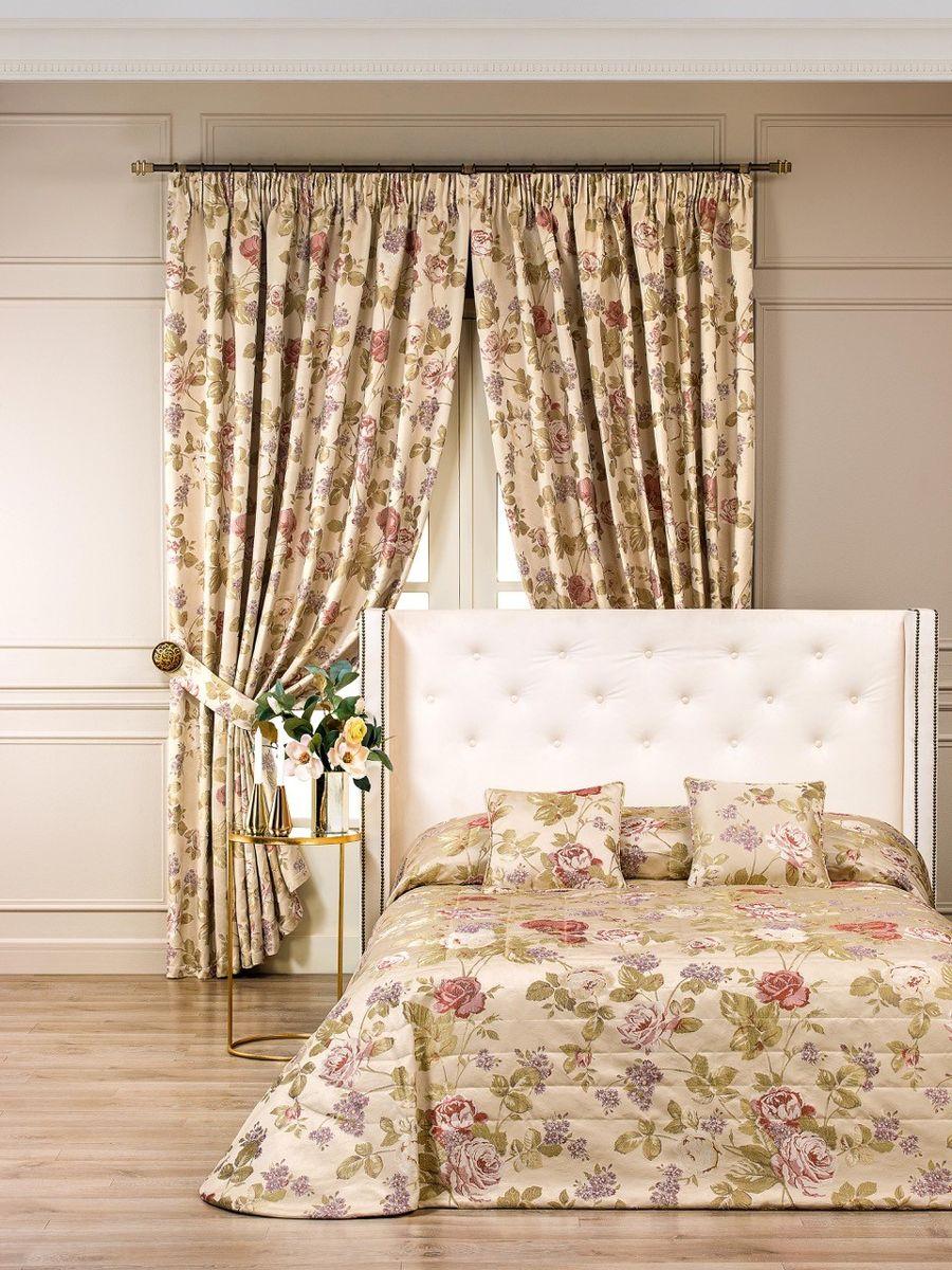 Комплект для спальни Togas Френсис: покрывало 260 х 260 см, 2 наволочки 40 х 40 см, цвет: бежевый40.12.61.0208