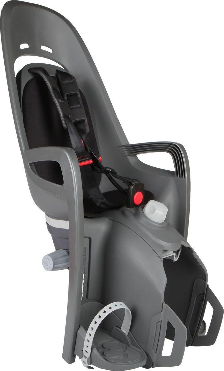 Детское велокресло Hamax Zenith Relax W/Carrier Adapter, цвет: серый, черный