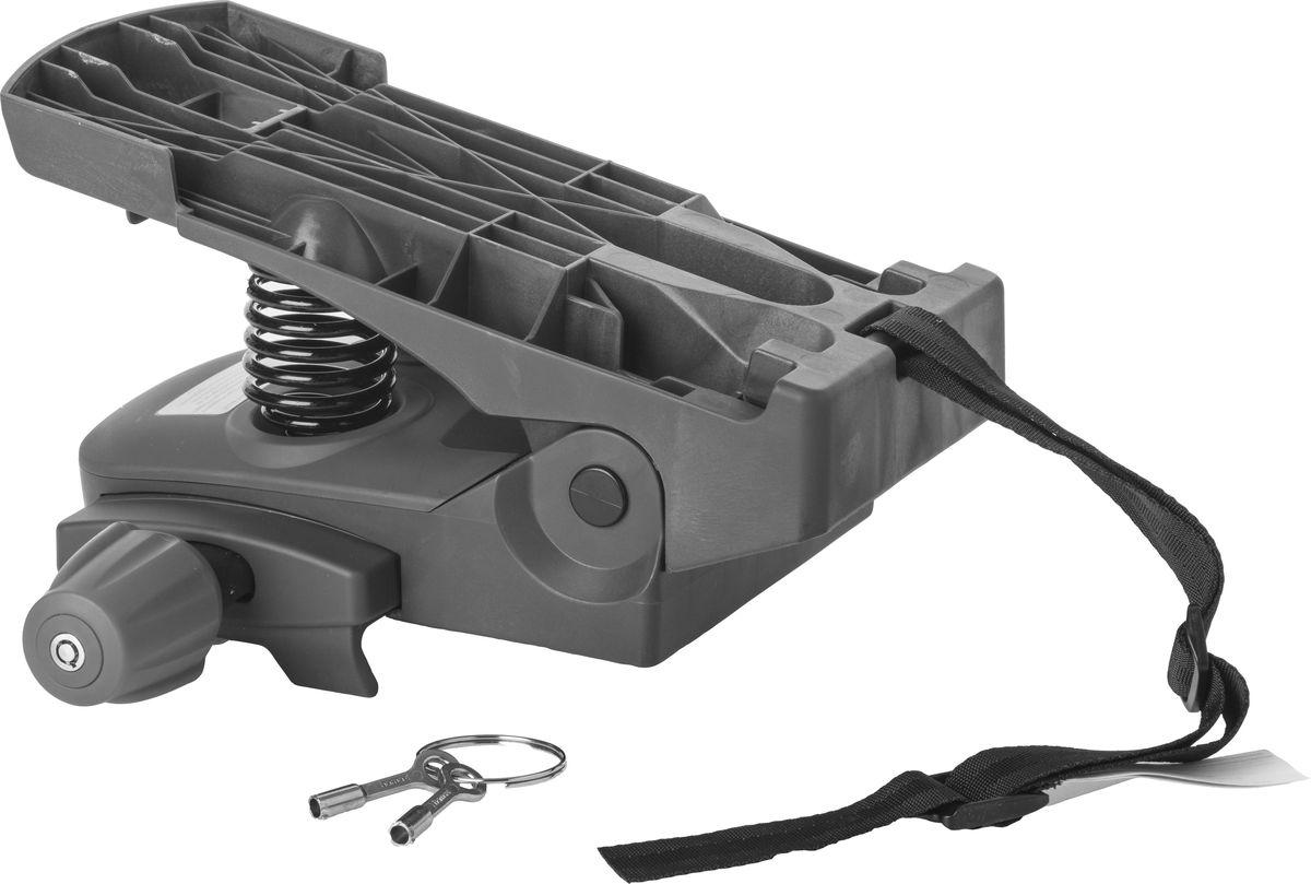 Адаптер для крепления детского велокресла Hamax Caress Carrier Adapter, на багажник, цвет: серый604011Адаптер для установки велокресла HAMAX на багажник велосипеда. Выдерживает нагрузку до 30 кг. Подходит для крепления на трубы диаметром от 10 до 20 мм.