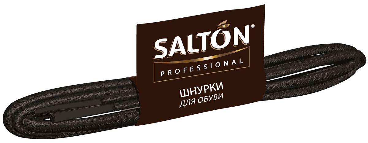 Шнурки толстые Salton Professional, с пропиткой, цвет: черный, длина 60 см520004051