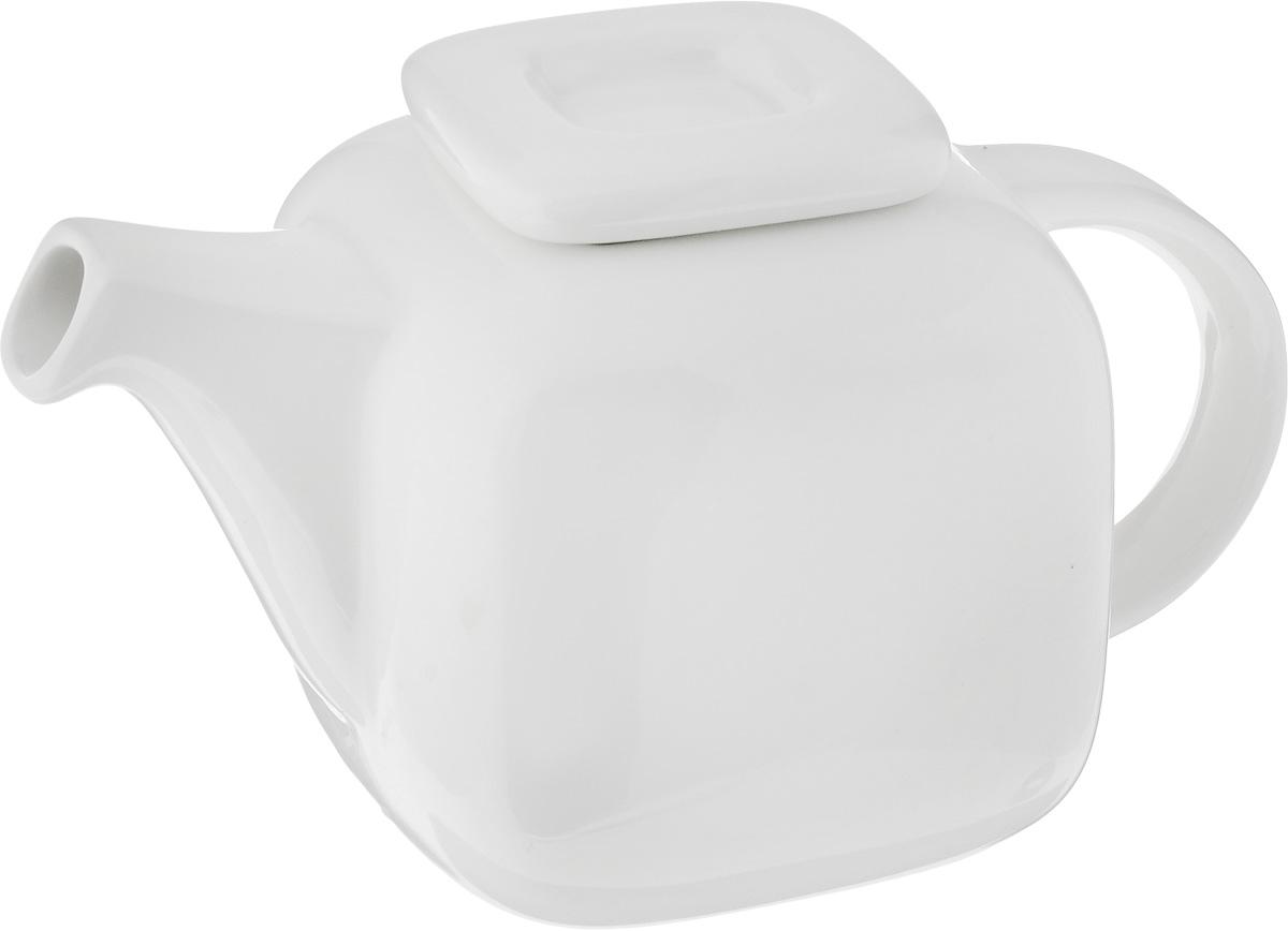 Чайник заварочный Ariane Vital Square, 400 млAVSARN62040Заварочный чайник Ariane Vital Square изготовлен из высококачественного фарфора. Изделие имеет глазурованное покрытие, которое обеспечивает легкую очистку. Чайник прекрасно подходит для заваривания вкусного и ароматного чая, а также травяных настоев. Классический дизайн сделает чайник настоящим украшением стола. Он удобен в использовании и понравится каждому. Можно мыть в посудомоечной машине и использовать в микроволновой печи. Размер чайника (по верхнему краю): 5 х 4,5 см. Высота чайника (без учета крышки): 9 см. Высота чайника (с учетом крышки): 10,5 см.