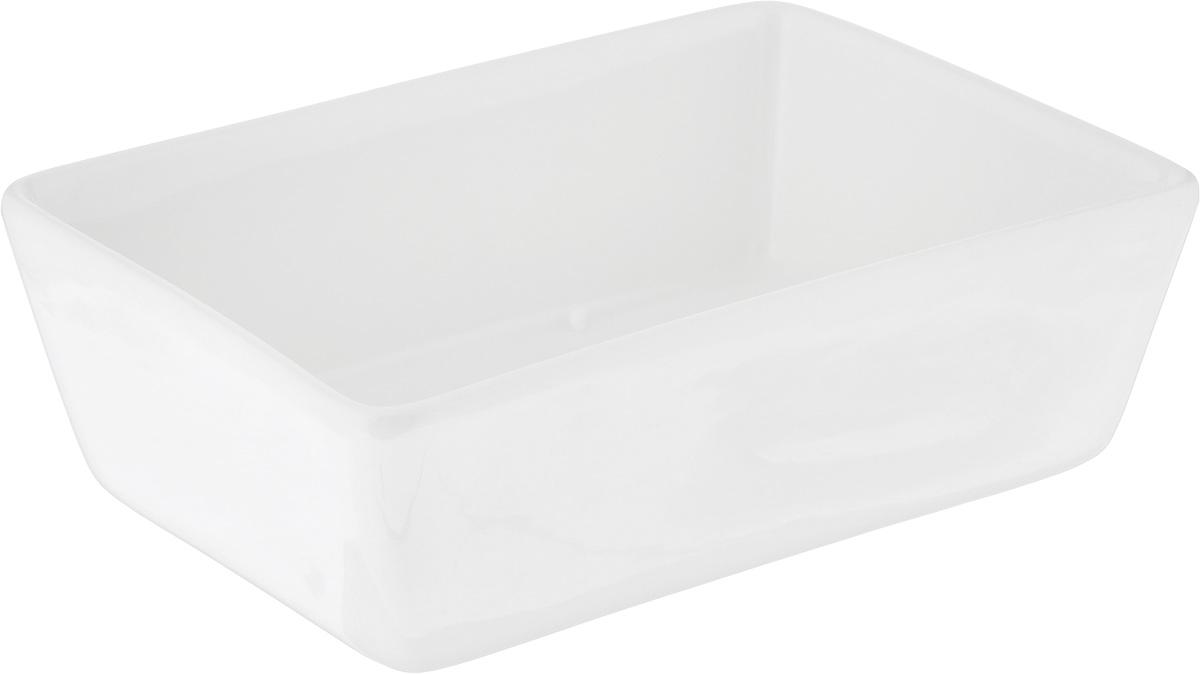 Салатник Ariane Джульет, 280 млAJRARN22013прямоугольный салатник Ariane Джульет, изготовленный из высококачественного фарфора с глазурованным покрытием, прекрасно подойдет для подачи различных блюд: закусок, салатов или фруктов. Такой салатник украсит ваш праздничный или обеденный стол. Можно мыть в посудомоечной машине и использовать в микроволновой печи. Размер салатника (по верхнему краю): 13 х 9 см. Высота стенки: 4,5 см. Объем салатника: 280 мл.
