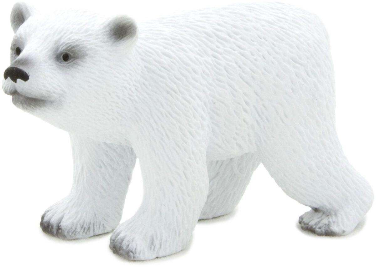 Mojo Фигурка Белый полярный медвежонок в движении 387020