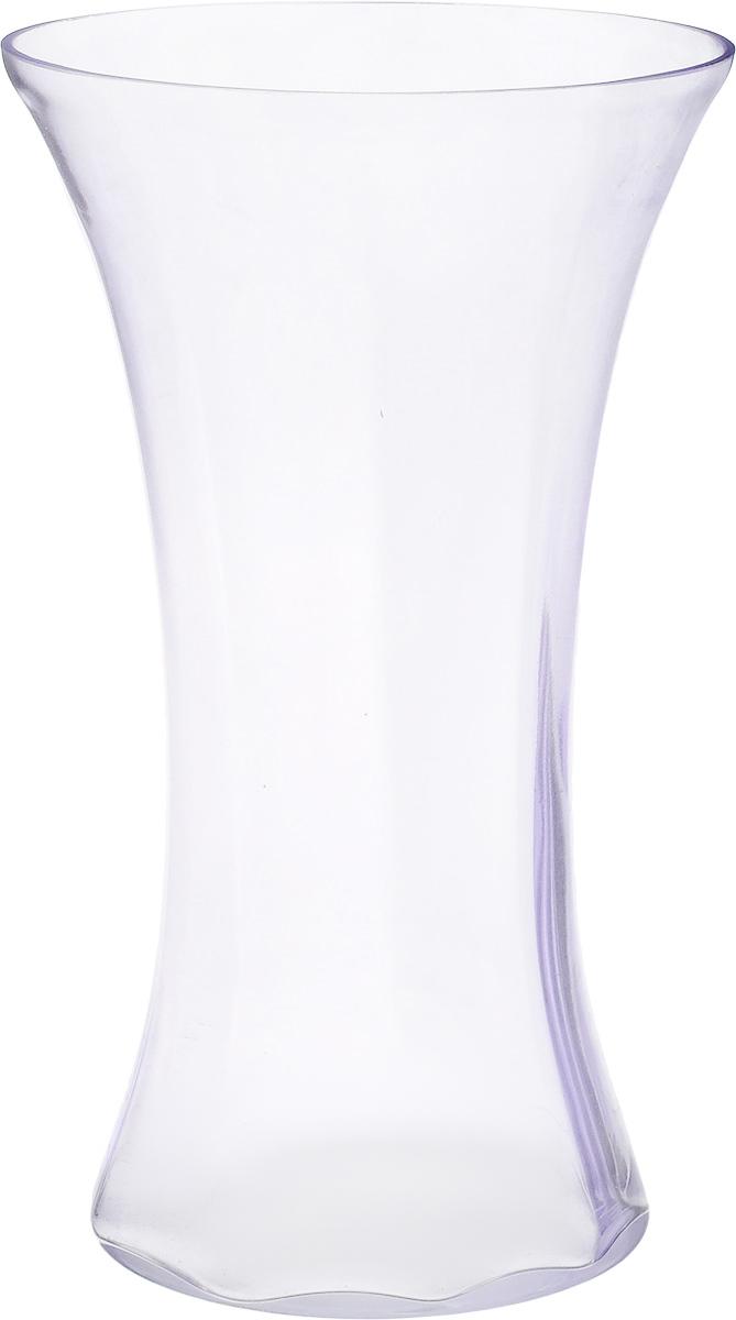 Ваза NiNaGlass Мадонна, цвет: лаванда, высота 35 см90-038_лавандаВаза NiNaGlass Мадонна выполнена из высококачественного стекла. Она станет ярким украшением интерьера и прекрасным подарком к любому случаю. Высота вазы: 35 см. Диаметр вазы (по верхнему краю): 21 см. Диаметр основания: 16 см.