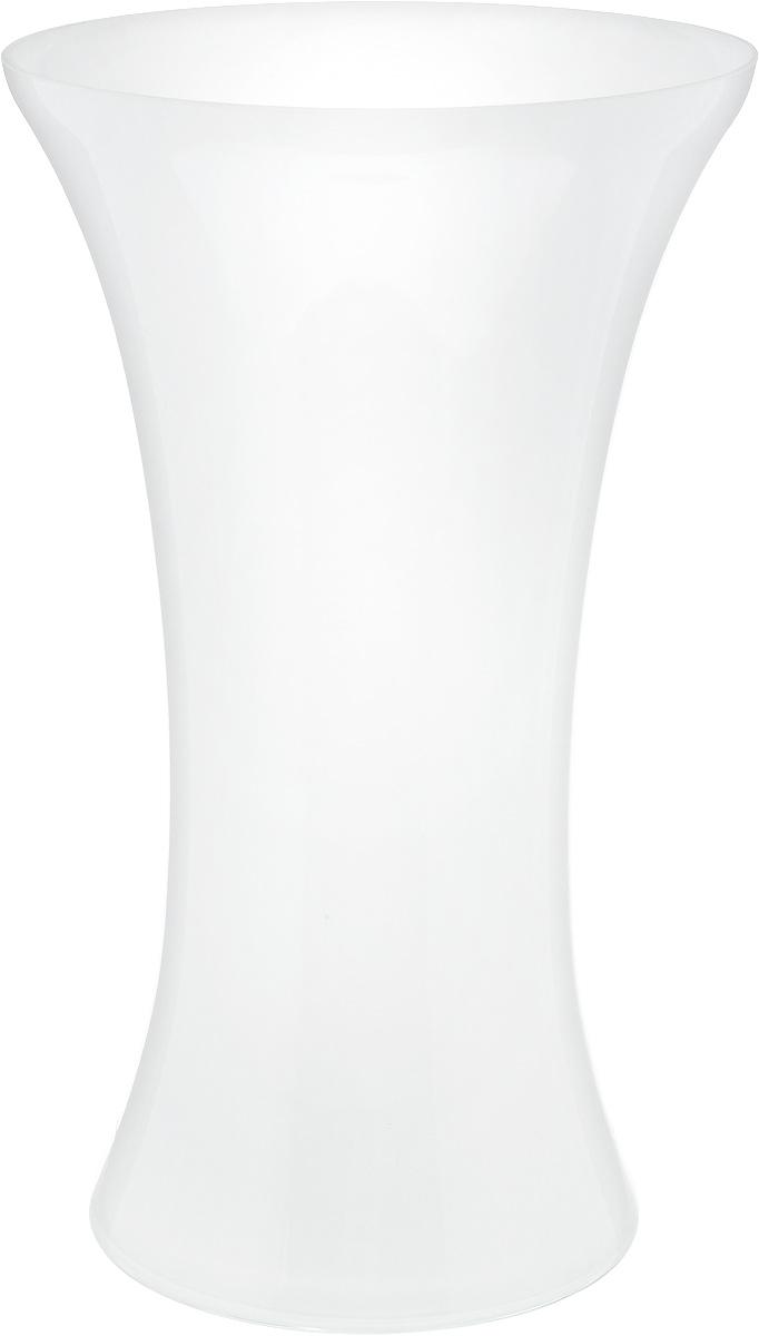Ваза NiNaGlass Мадонна, цвет: белый, высота 35 см90-038_белыйВаза NiNaGlass Мадонна выполнена из высококачественного стекла. Она станет ярким украшением интерьера и прекрасным подарком к любому случаю. Высота вазы: 35 см. Диаметр вазы (по верхнему краю): 21 см. Диаметр основания: 16 см.
