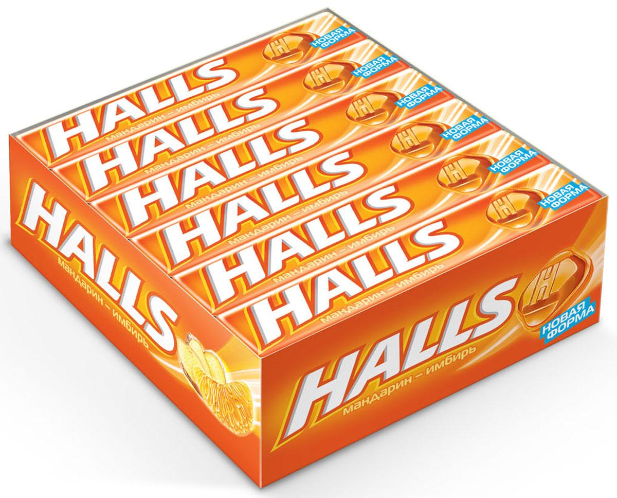 Halls со вкусом мандарина и имбиря карамель леденцовая, 12 пачек по 25 г650450, 645733В напряженные моменты, когда нужна эмоциональная встряска, когда одолевает усталость, когда просто нужно перевести дыхание – попробуйте Halls и дышите свободно.Он сродни глотку свежего воздуха в любой ситуации, когда это необходимо – бодрит, освежает и позволяет сосредоточиться на главном.
