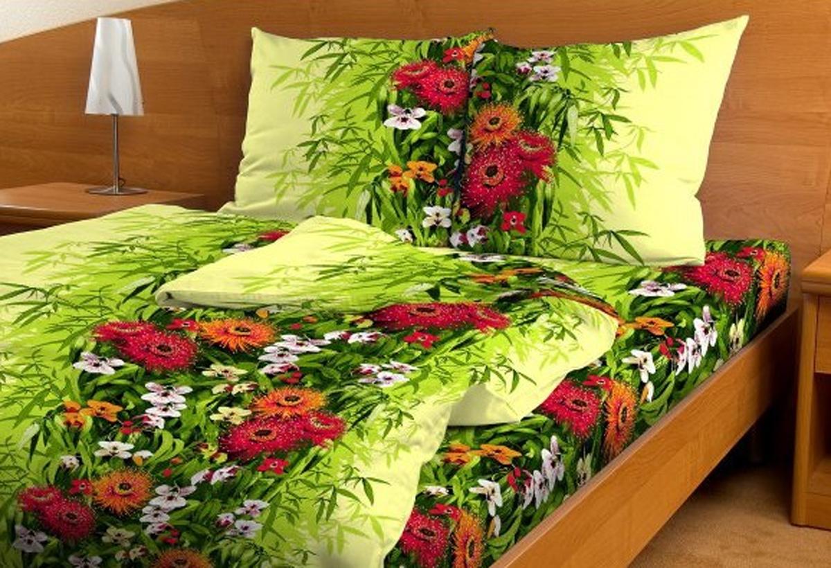 Комплект белья Amore Mio Тропикана, 1,5-спальный, наволочки 70x7083928Комплект постельного белья Amore Mio является экологически безопасным для всей семьи, так как выполнен из бязи (100% хлопок). Комплект состоит из пододеяльника, простыни и двух наволочек. Постельное белье оформлено оригинальным цветочным рисунком. Постельное белье из бязи практично и долговечно. Материал великолепно отводит влагу, отлично пропускает воздух, не капризен в уходе, легко стирается и гладится.