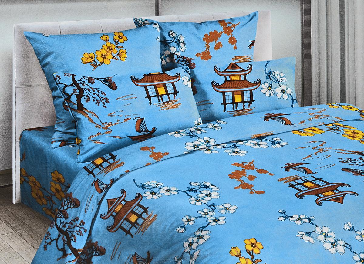 Комплект белья Letto Home Textile Традиция, 1,5-спальный, наволочки 70x70. В227-3В227-3Комплект постельного белья Letto Home Textile Традиция выполнен из классической российской бязи (хлопка). Комплект состоит из пододеяльника, простыни и двух наволочек. Постельное белье, оформленное красивым изображением, имеет изысканный внешний вид. Пододеяльник застегивается на молнию, наволочка - на клапан. Благодаря такому комплекту постельного белья вы сможете создать атмосферу роскоши и романтики в вашей спальне.