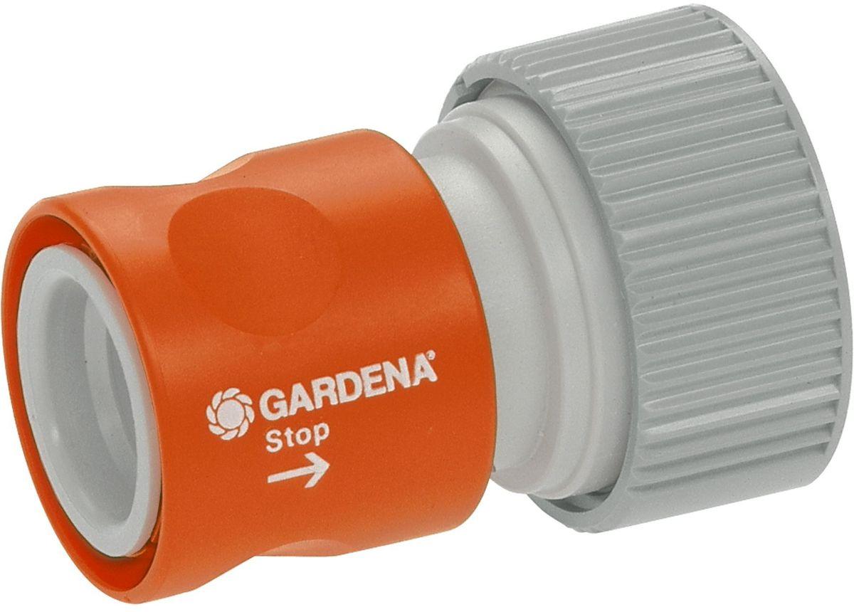 Коннектор с автостопом Gardena