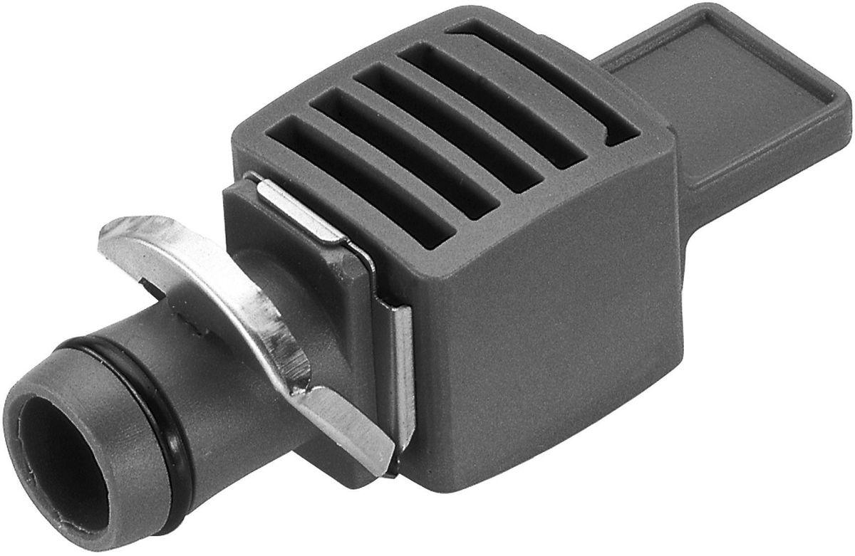 Заглушка Gardena, 13 мм (1/2), 5 шт. 08324-29.000.0008324-29.000.00Заглушка GARDENA является элементом системы микрокапельного полива GARDENA Micro-Drip-System и предназначена для закрытия магистрального канала. Благодаря патентованной технологии быстрого подсоединения Quick & Easy, установка заглушки чрезвычайно проста. В комплект поставки входят пять заглушек.