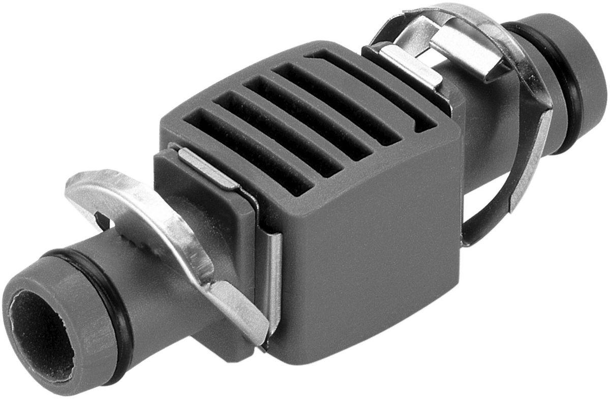 Соединитель Gardena, 13 мм (1/2), 3 шт. 08356-29.000.0008356-29.000.00Соединитель GARDENA является элементом системы микрокапельного полива GARDENA Micro-Drip-System и предназначен для наращивания магистрального шланга. Благодаря патентованной технологии быстрого подсоединения Quick & Easy, установка соединителя чрезвычайно проста. В комплект поставки входят три соединителя.